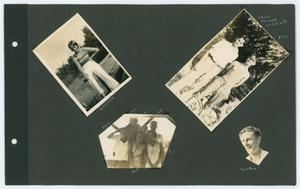 Primary view of object titled '[Page 5 of Byrd Williams III scrapbook]'.