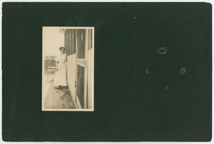 Primary view of [Page 1 of Byrd Williams Jr. album, 1907-1920]