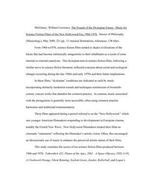 Dissertation sur la science fiction et commentaire d'un   Etudier