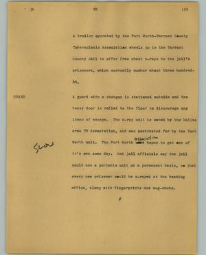 Primary view of object titled '[News Script: TB]'.