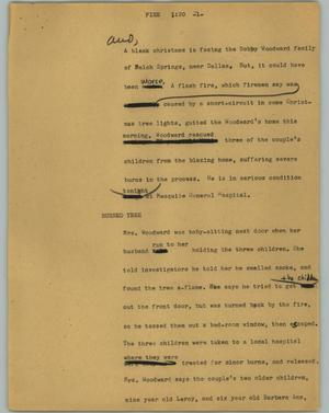 Primary view of [News Script: Fire]