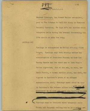 Primary view of object titled '[News Script: PPT]'.