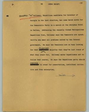 Primary view of object titled '[News Script: Bo]'.