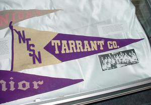 Primary view of object titled '[Tarrant County Club Banner, 3]'.