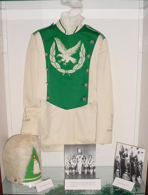 Primary view of object titled '[Treasures of UNT Marching Band Display, 2]'.