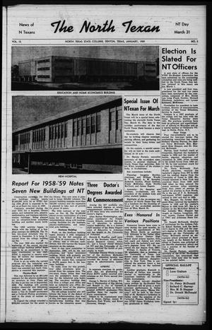 The North Texan, Volume 10, Number 2, January 1959