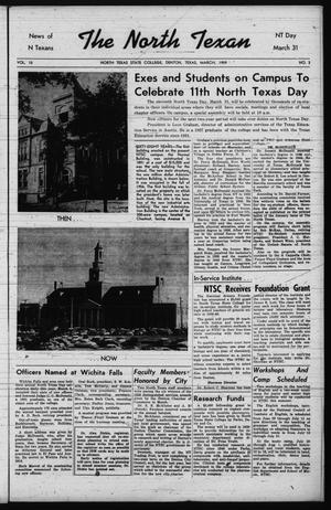 The North Texan, Volume 10, Number 3, March 1959