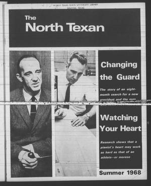 Primary view of object titled 'The North Texan, Volume 19, Number 4, August 1968'.