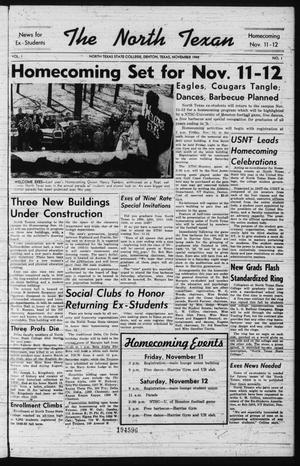 The North Texan, Volume 1, Number 1, November 1949