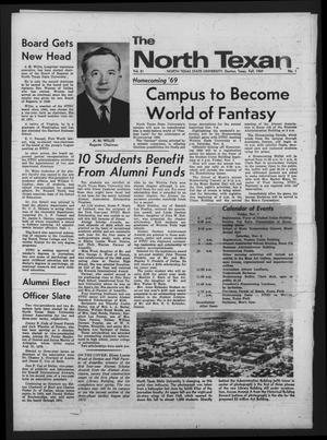 Primary view of object titled 'The North Texan, Volume 21, Number 1, Fall 1969'.
