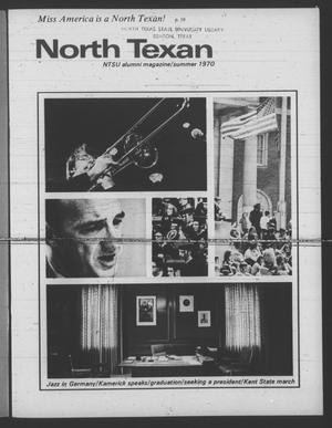 Primary view of object titled 'The North Texan, Volume 21, Number 4, August 1970'.