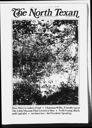 Primary view of object titled 'The North Texan, Volume 23, Number 1, November 1971'.