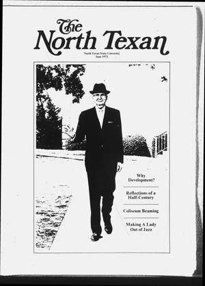 Primary view of object titled 'The North Texan, Volume 23, Number 3, June 1972'.