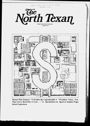 The North Texan, Volume 23, Number 4, October 1972