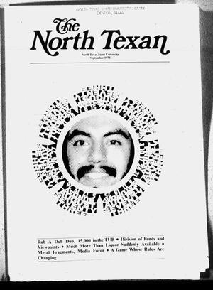 Primary view of object titled 'The North Texan, Volume 24, Number 3, September 1973'.