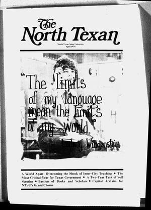 The North Texan, Volume 25, Number 1, April 1974