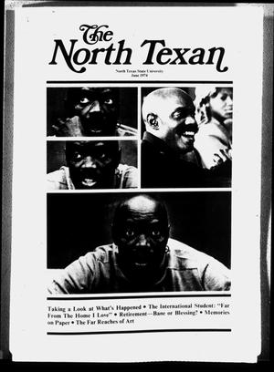 Primary view of object titled 'The North Texan, Volume 25, Number 2, June 1974'.