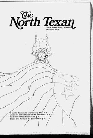 Primary view of object titled 'The North Texan, Volume 26, Number 3, December 1975'.