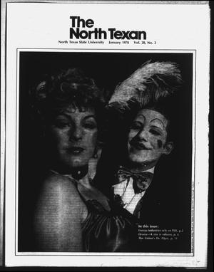 Primary view of object titled 'The North Texan, Volume 28, Number 2, January 1978'.