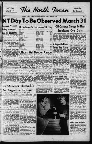 The North Texan, Volume 2, Number 3, March 1951
