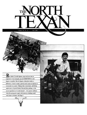 Primary view of object titled 'The North Texan, Volume 39, Number 4, Fall 1989'.