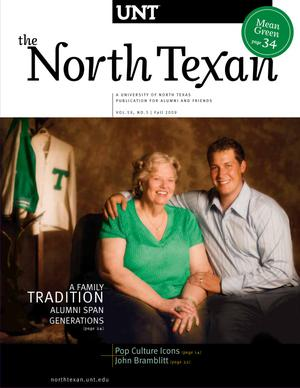 Primary view of object titled 'The North Texan, Volume 59, Number 3, Fall 2009'.