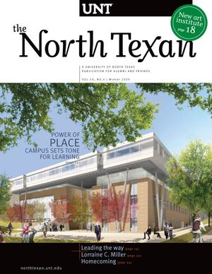 Primary view of object titled 'The North Texan, Volume 59, Number 4, Winter 2009'.