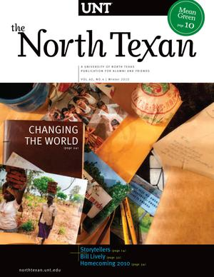 Primary view of object titled 'The North Texan, Volume 60, Number 4, Winter 2010'.