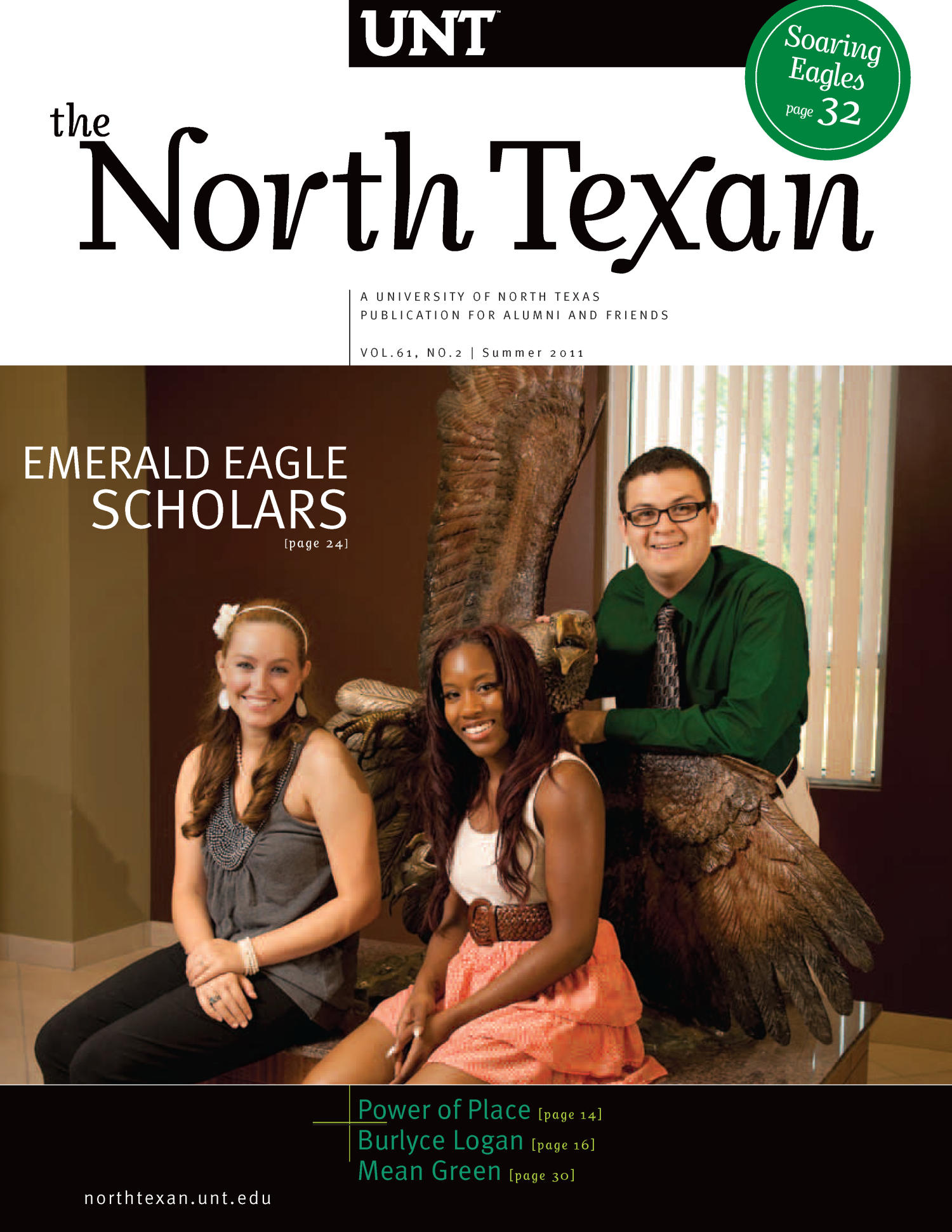 The North Texan, Volume 61, Number 2, Summer 2011                                                                                                      Front Cover