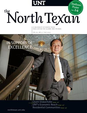 Primary view of object titled 'The North Texan, Volume 61, Number 3, Fall 2011'.