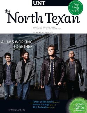 The North Texan, Volume 62, Number 1, Spring 2012