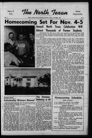 The North Texan, Volume 7, Number 1, October 1955