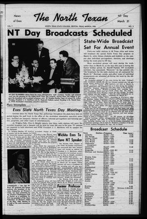 The North Texan, Volume 7, Number 3, March 1956