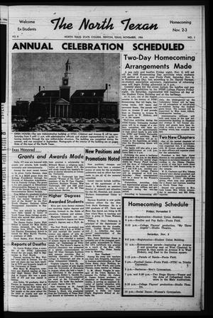 The North Texan, Volume 8, Number 1, November 1956