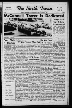The North Texan, Volume 8, Number 2, January 1957