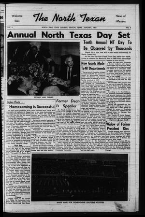 The North Texan, Volume 9, Number 2, January 1958