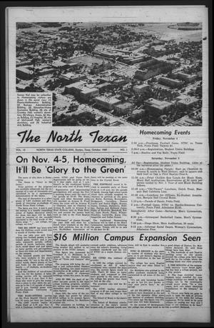 Primary view of object titled 'The North Texan, Volume 12, Number 1, October 1960'.