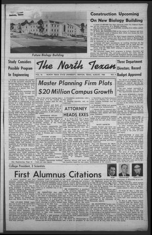 Primary view of object titled 'The North Texan, Volume 16, Number 4, August 1965'.
