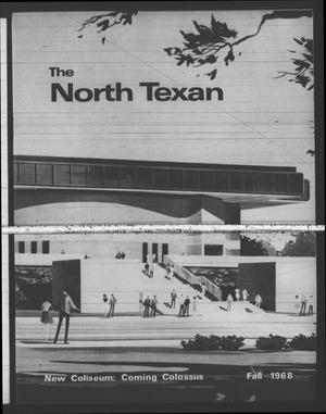 Primary view of object titled 'The North Texan, Volume 20, Number 1, October 1968'.