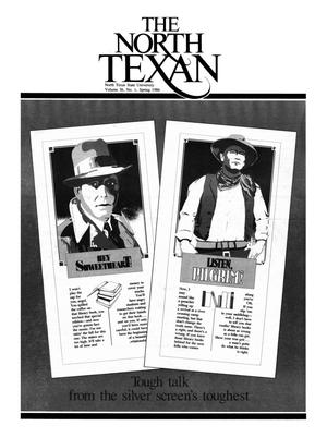 Primary view of object titled 'The North Texan, Volume 36, Number 1, Spring 1986'.