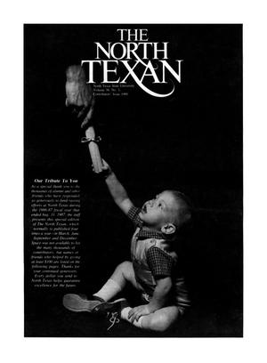 Primary view of object titled 'The North Texan, Volume 38, Number 1, Contributors' Issue 1988'.