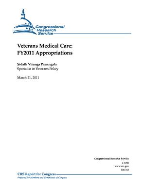 Veterans Medical Care: FY2011 Appropriations