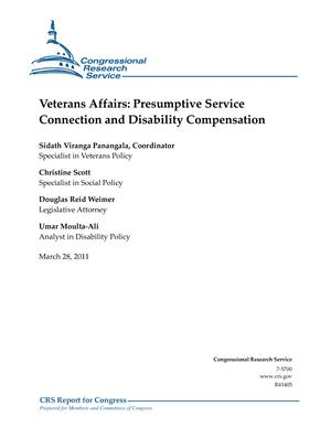 Veterans Affairs: Presumptive Service Connection and Disability Compensation