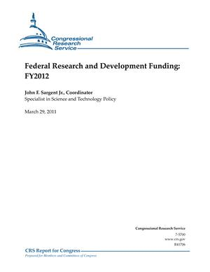 Federal Research and Development Funding: FY2012