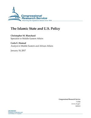 Primary view of object titled 'The Islamic State and U.S. Policy'.