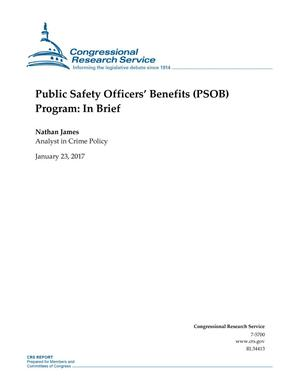 Primary view of object titled 'Public Safety Officers' Benefits (PSOB) Program: In Brief'.