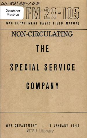 The Special Service Company.