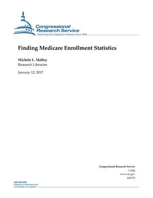Primary view of object titled 'Finding Medicare Enrollment Statistics'.