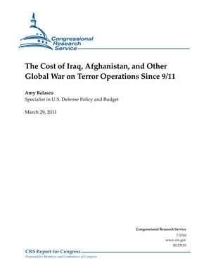 The Cost of Iraq, Afghanistan, and Other Global War on Terror Operations Since 9/11