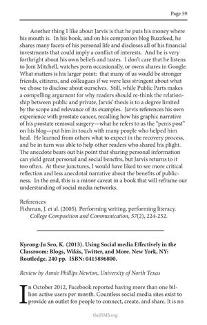 Book Review: Using Social Media Effectively in the Classroom: Blogs, Wikis, Twitter, and More.